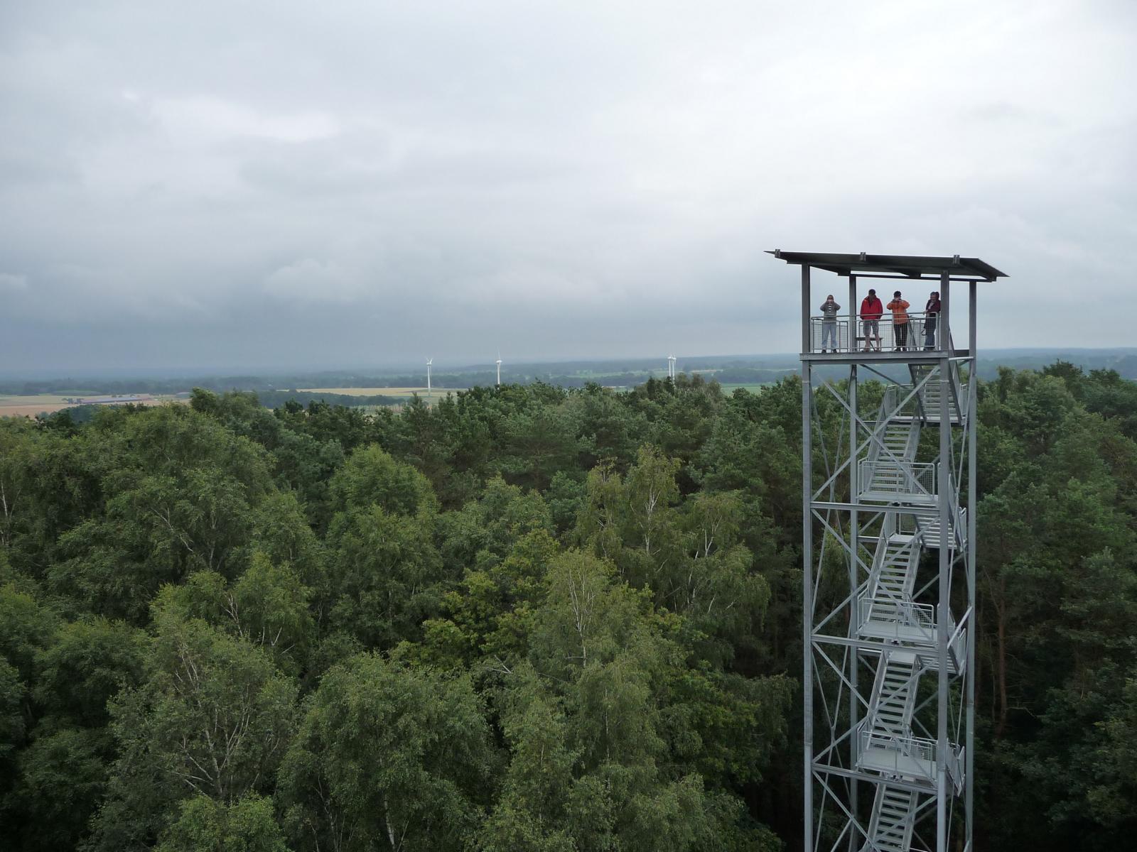 Turm auf dem Litberg